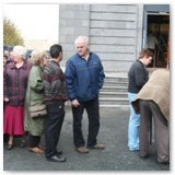 01 People queuing to enter Cathedral on the Open Day on 18 September 2011