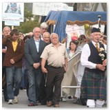 11 Corpus Christi procession led by Longford Pipe Band
