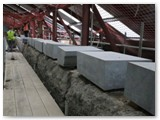 12 More new coping stones still to be set