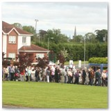 13 Corpus Christi procession enters Lisbrack Downs Estate for Benediction