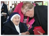 21 Bishop Colm greets Sr Rosario