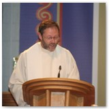 24 Fr Tom's friend Pat Murphy gives the homily