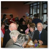 28 A great gathering came to the refreshments afterwards in the John Gerety Hall at St Mel's College