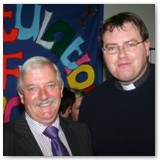 31 Fr Padraig Kelliher and Colm Dardis of the Pastoral Council
